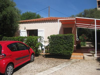 Photo for Villa Club 45 m2, located near the beaches, with garden and parking