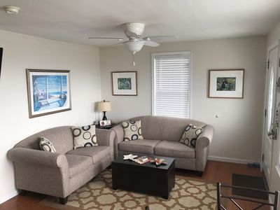 Living Room with Full Pull out Bed