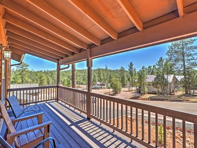 Photo for Cabin w/Deck & Grill - 9 Miles to Downtown Pinetop