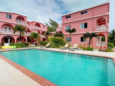 Photo for Comfortable studio w/ shared pool at a beachfront resort, steps to the water!