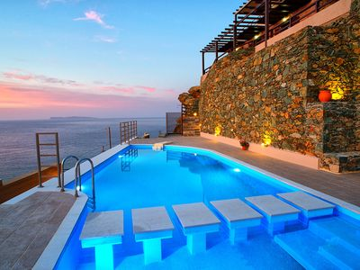Photo for Sitia Blue Villa /Panoramic Seaview /Private Pool