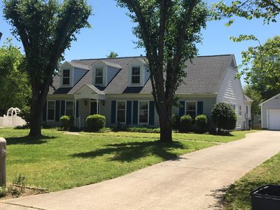 Charming Cape Cod with 4 spacious bedrooms.