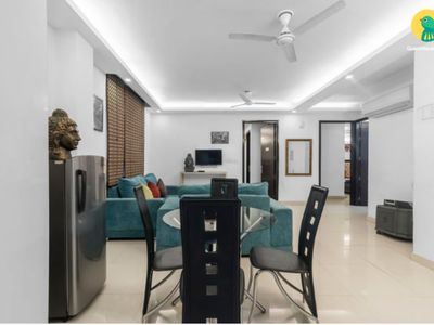 Photo for Party Place upto 15 guests (3BHK Apartment )at chattarpur, New Delhi