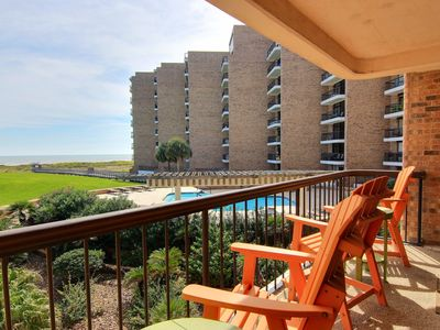 Photo for Aransas Princess 205 - Large Ocean Front Condo with View of Ocean and Pool