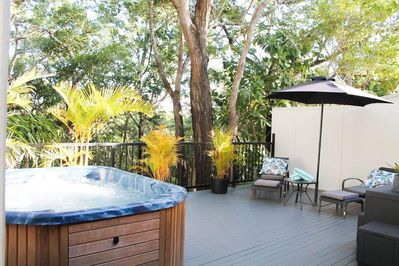 Enjoy privacy and location where the bush meets the beach