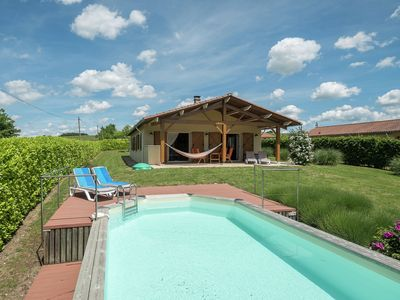 Photo for Spacious Holiday Home in Sadillac with Swimming  Pool