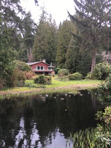 Photo for Rustic Waterfront Home on 1.2 Acres