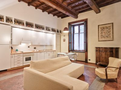 Photo for Luxury and Charme at 50m from Piazza Castello!