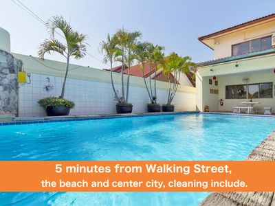 Photo for Villa 4 bedrooms near Walking Street & beach ★★★★★