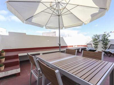 Photo for With an amazing terrace near the city center at Marques de Pombal