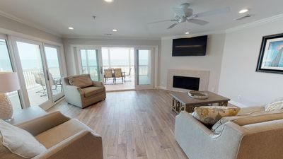 Photo for Porpoise Point Condominiums - Unit 5 - Panoramic Oceanfront View- FREE Wi-Fi