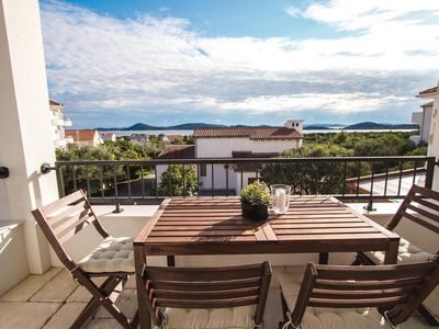 Photo for 461 m from the center of Vodice with Internet, Air conditioning, Parking (740071)