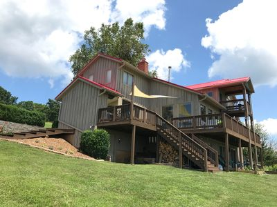 Photo for Blacksburg Farm House with excellent views