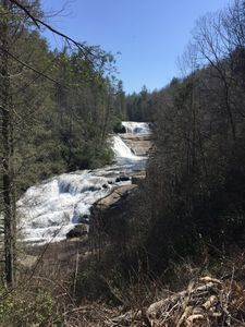 Triple Falls in DuPont State Forest. A 7 mile drive, 10 minute hike.