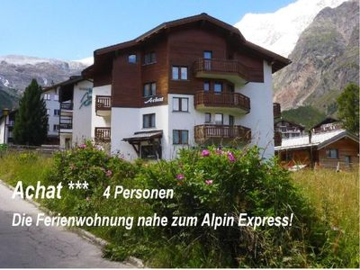 Photo for Apartment Achat  in Saas - Fee, Valais - 4 persons, 2 bedrooms