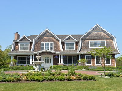 Photo for Mansion in the Hamptons with Pool and Tennis