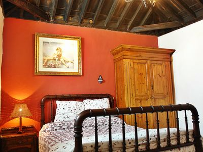 Photo for La Casita Roja, 1 bedroom country house with pool and garden in Tenerife North