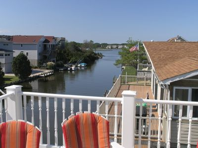 Photo for CANAL FRONT Walk to Beach-6 BR 7 BA sleeps 16 Pet Friendly Home