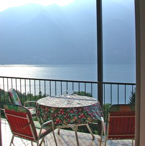 Photo for Charming apartment with beautiful views of Lake Maggiore
