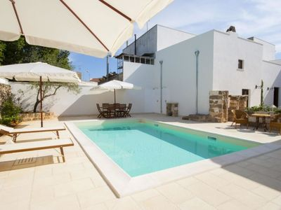 Photo for Vacation home luxury courtyard studio in Racale - 2 persons, 1 bedrooms