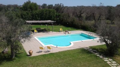 Photo for Prestigious villa with private pool near the sea, near Gallipoli, Puglia