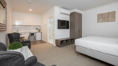 Photo for Newington Apartments - Accessible Queen Studio Apt