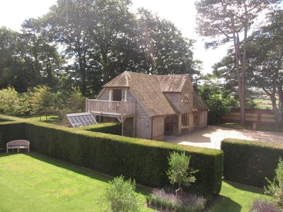 Photo for Luxurious comfort with breathtaking views in the Chalke Valley near Salisbury.