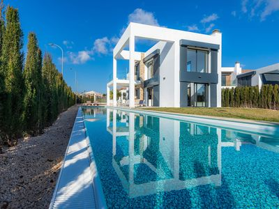 Photo for With Contemporary Architecture and Long Pool - Finca Sofie