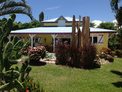 Photo for Guadeloupe for rent beautiful villa near Deshaies on Basse-Terre