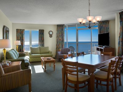 Photo for Oceanfront 3 Bedroom Condo w/ Gorgeous View + Official On-Site Rental Privileges