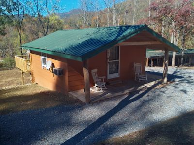 Photo for Granny's Mountain Retreat located in peaceful Cowee Valley.