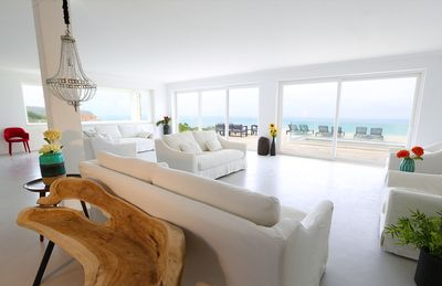 Photo for PG Beach House - Luxury Sea Front View, brand new family home (open sunday 2018)