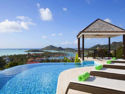 Photo for Luxury, Large Open-Plan Living Space Villa, Jaw Dropping Views, Infinity Pool