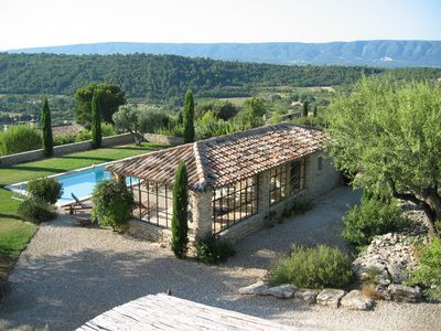 Photo for Gordes Village - Superb and spacious bastide - Stunning views of the Luberon