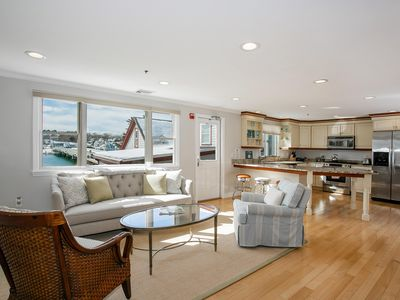 Photo for Sweeping Water Views & Tony Decor are Yours at Humarock Beach, MA