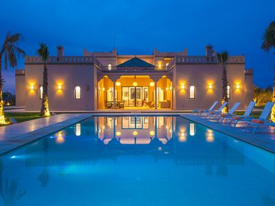 Photo for Luxury villa Marrakaech - 450m2 - Pool and stove available