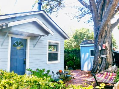 Cozy And Private Beach Bungalow, Hot Tub, Dog ok, 3 Short Blocks To Beach.
