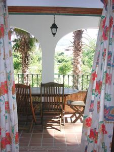 Photo for Family-friendly Finca-Apartment with Terrace, Pool,BBQ, WiFi,10 min to the beach