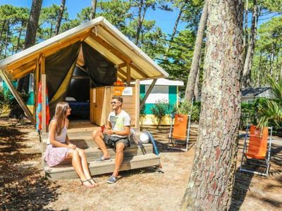 Photo for Camping Le Vieux Port ***** - Duo 2-room tent 2 people