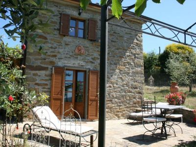 Photo for lovely house placed in an extremely panoramic position in the Casentino valley
