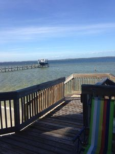 Soundview deck and water access