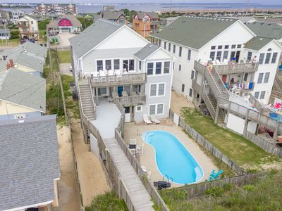 Photo for Paradise Found | Oceanfront | Dog Friendly, Private Pool, Hot Tub