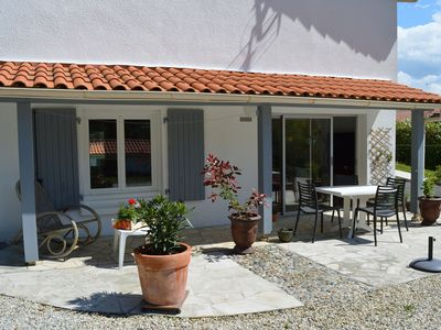 Photo for Cozy T3 in Tarnos near Bayonne - Biarritz, Landes beaches and Spain