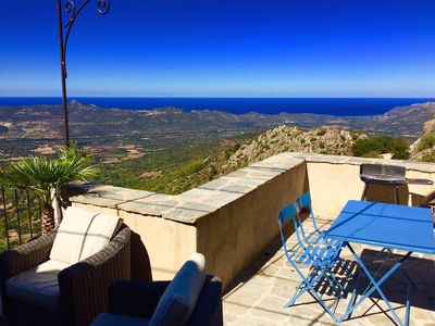 Photo for CORSE HOUSE EXCEPTIONAL SEA VIEW IN A VILLAGE BETWEEN SEA & MOUNTAINS