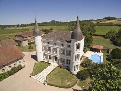 Photo for Immaculate Chateau - Luxury Holiday Home in South West France