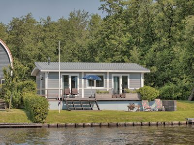 Photo for 4-person chalet in the holiday park Landal De Bloemert - on the water/recreation lake
