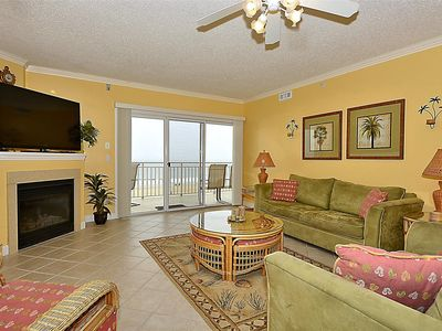 Photo for Great Sunrises! Oceanfront Luxury Condo on Boardwalk - Wi-Fi & Pool