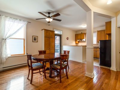 Photo for GALLERY 2 - NICE 2 BR APARTMENT + HUGE DECK near DOWNTOWN, SUBWAY & ATWATER MKT