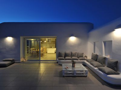 Photo for VILLA SUNSET PAROS-BRAND NEW HOME