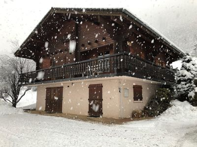 Photo for Chalet Henri, Savoyard and family classified 3 ***